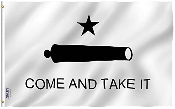 Come And Take It Flag Gonzales Historical Polyester Flag - Trumpshop.net