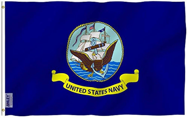 United States Navy Flag - Military Polyester Flag - Trumpshop.net