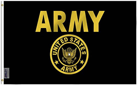 US Army Gold Crest Flag Military Polyester Flag - Trumpshop.net
