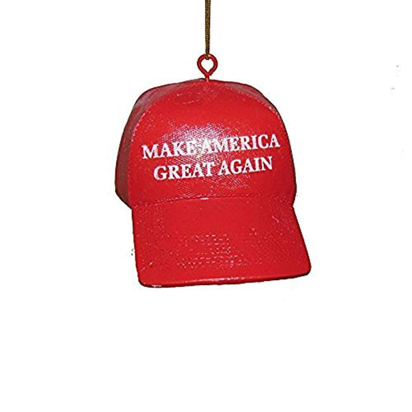 "Trump Ornament ""Make America Great Again"" Red MAGA Hat - Trumpshop.net"