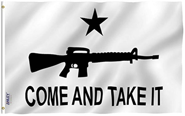 Come and Take It Flag M4 Carbine Polyester Flag - Trumpshop.net