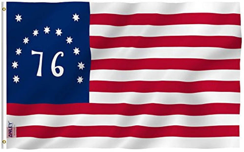 Bennington 76 Flag American Revolution Polyester Flag - Trumpshop.net