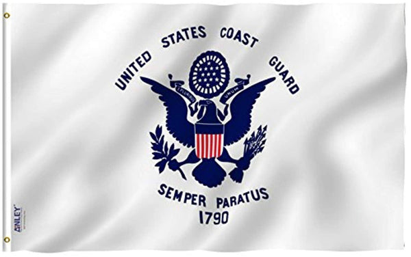 United States Coast Guard Flag - Military Polyester Flag