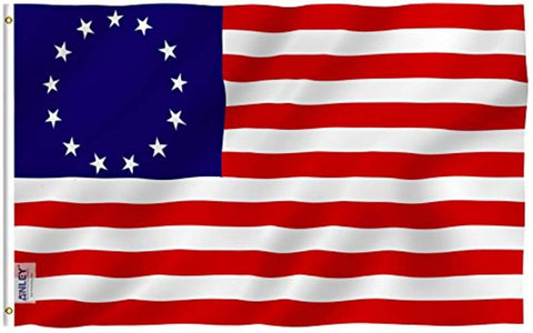 Betsy Ross Flag United States Polyester Flag - Trumpshop.net