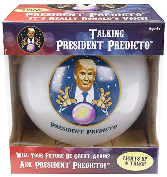 Donald Trump Fortune Teller Ball - Ask a YES or NO Question & Trump Speaks the Answer - Trumpshop.net