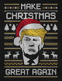 The Donald Trump Ugly Sweater Make Christmas Great Again Christmas Sweatshirt