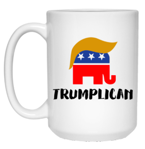 Trumplican 15 oz. White Mug - Trumpshop.net