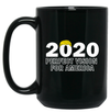 Trump - Perfect Vision for America 15 oz. Black Mug