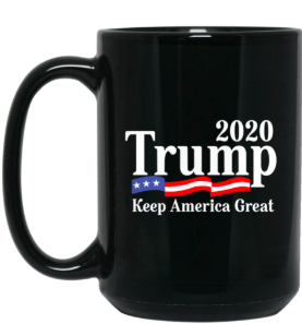 KAG 15 oz. Black Mug