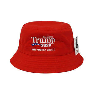 2020 Keep America Great Embroidered Bucket Hat