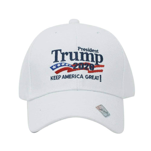President Trump 2020 Keep America Great Campaign Embroidered USA Hat - Trumpshop.net