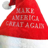 Donald Trump Santa Claus Christmas Make America Great Again Embroidered Cap