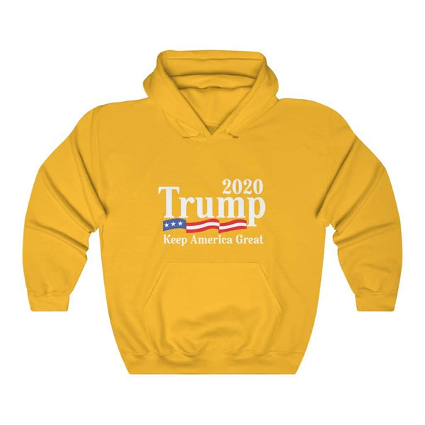Trump 2020 Keep America Great Pullover Hoodie 8 oz.
