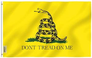 Don't Tread on Me Gadsden Flag - Vivid Color and UV Fade Resistant