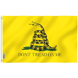 Rip-Proof Don't Tread On Me Gadsden Flag Tough Textile