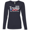 Trump 2020 Keep America Great Ladies' French Terry Scoop
