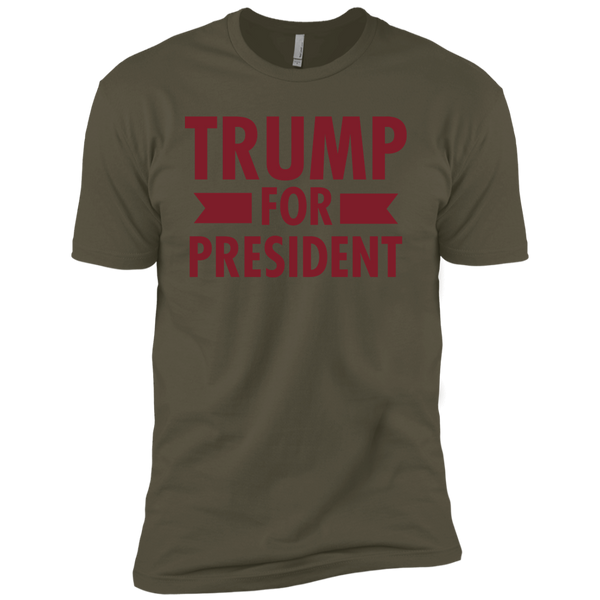 Trump for President Premium Short Sleeve T-Shirt - Trumpshop.net
