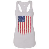 Betsy Ross Flag 13 Colonies Ladies Ideal Racerback Tank - Trumpshop.net