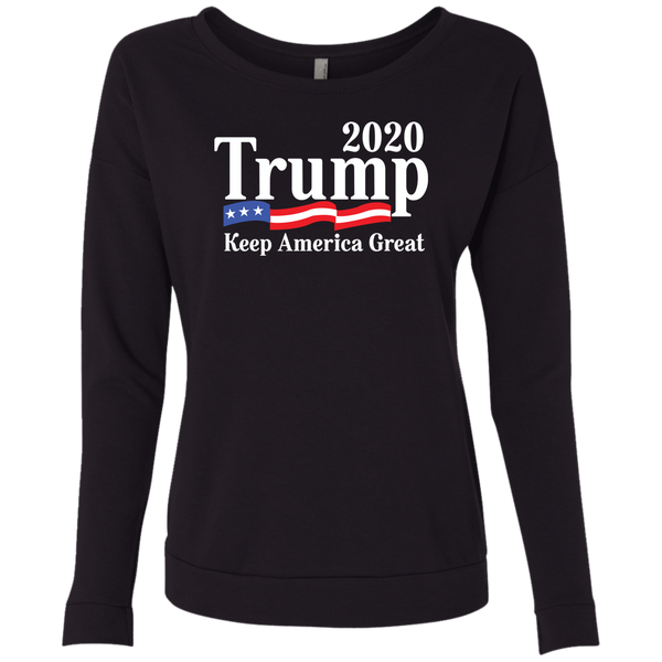 Trump 2020 Ladies' French Terry Scoop - Trumpshop.net
