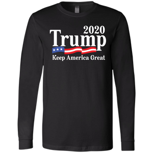 Trump 2020 Men's Jersey LS T-Shirt