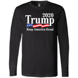 Trump 2020 Men's Jersey LS T-Shirt - Trumpshop.net