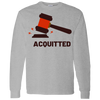 Acquitted Gavel (Red) Long Sleeve T-Shirt