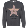 Try and break this hollywood star Donald Trump Pullover Sweatshirt  8 oz.