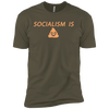 Socialism is Poop Premium Short Sleeve T-Shirt