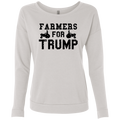 Farmers for Trump Ladies' French Terry Scoop