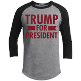 Trump for President Sporty T-Shirt - Trumpshop.net