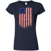 Betsy Ross Flag 13 Colonies Ladies' T-Shirt