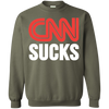 CNN Sucks Crewneck Pullover Sweatshirt  8 oz.