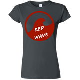 Red Wave Trump Ladies' T-Shirt - Trumpshop.net