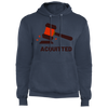 Acquitted Gavel (Red) Core Fleece Pullover Hoodie