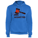 Acquitted Gavel (Red) Core Fleece Pullover Hoodie - Trumpshop.net