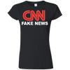 CNN Fake News Softstyle Ladies' T-Shirt
