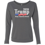 Official Trump 2020 Ladies' French Terry Scoop - Trumpshop.net