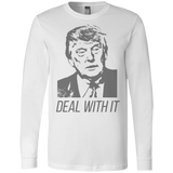 Trump Deal With It Men's Jersey LS T-Shirt - Trumpshop.net