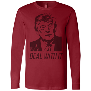 Trump Deal With It Men's Jersey LS T-Shirt