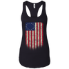 Betsy Ross Flag 13 Colonies Ladies Ideal Racerback Tank