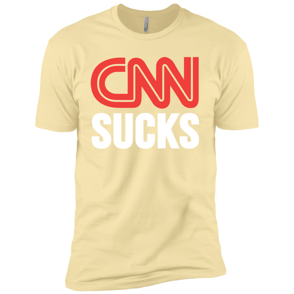 CNN Sucks Premium Short Sleeve T-Shirt - Trumpshop.net