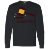 Acquitted Gavel Long Sleeve T-Shirt