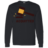 Acquitted Gavel Long Sleeve T-Shirt - Trumpshop.net