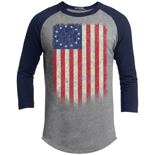 Betsy Ross Flag 13 Colonies Sporty T-Shirt