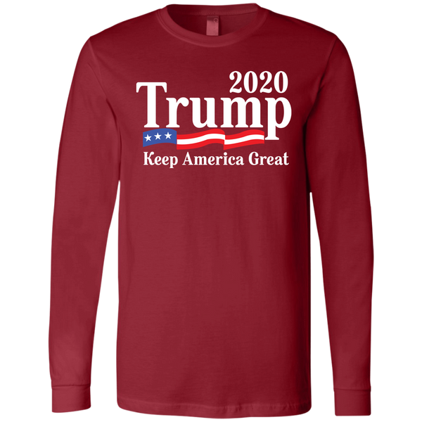 Official Trump 2020 Men's Jersey LS T-Shirt - Trumpshop.net