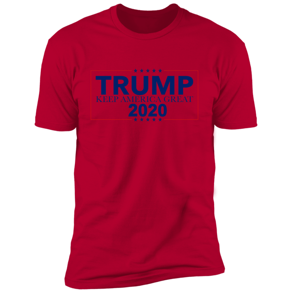 Keep America Great 2020 Slogan Premium Short Sleeve T-Shirt - Trumpshop.net