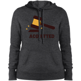 Acquitted Gavel Premium Ladies' Pullover Hooded Sweatshirt - Trumpshop.net