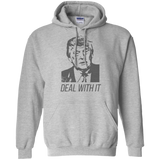 Trump Deal With It Pullover Hoodie 8 oz. - Trumpshop.net