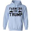 Farmers for Trump Pullover Hoodie 8 oz.