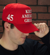 Made in USA Official President Donald Trump Keep America Great 45 Hat